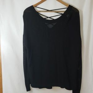 Christopher & Banks criss cross back sweater
